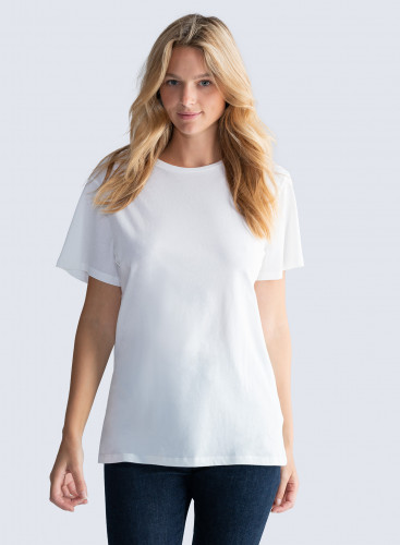 Oversized Silk Touch Round neck T-shirt