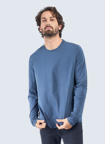 Henry Hand dyed round neck T-shirt
