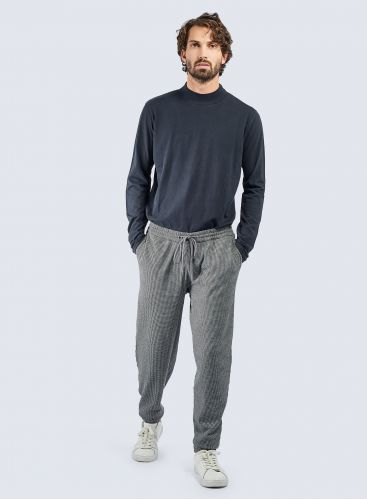Micro houndstooth jogger Pants