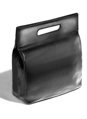 The 'Graphite' Leather Bag