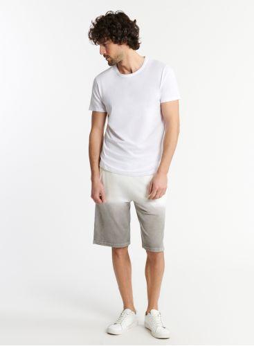Man - Terry-cloth dip dye shorts