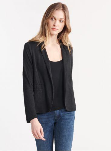 Piping pockets jacket