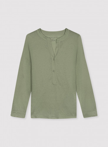 3/4 sleeve Tunisian T-shirt